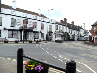 The Market Place Tuxford and The Museum of The Horse