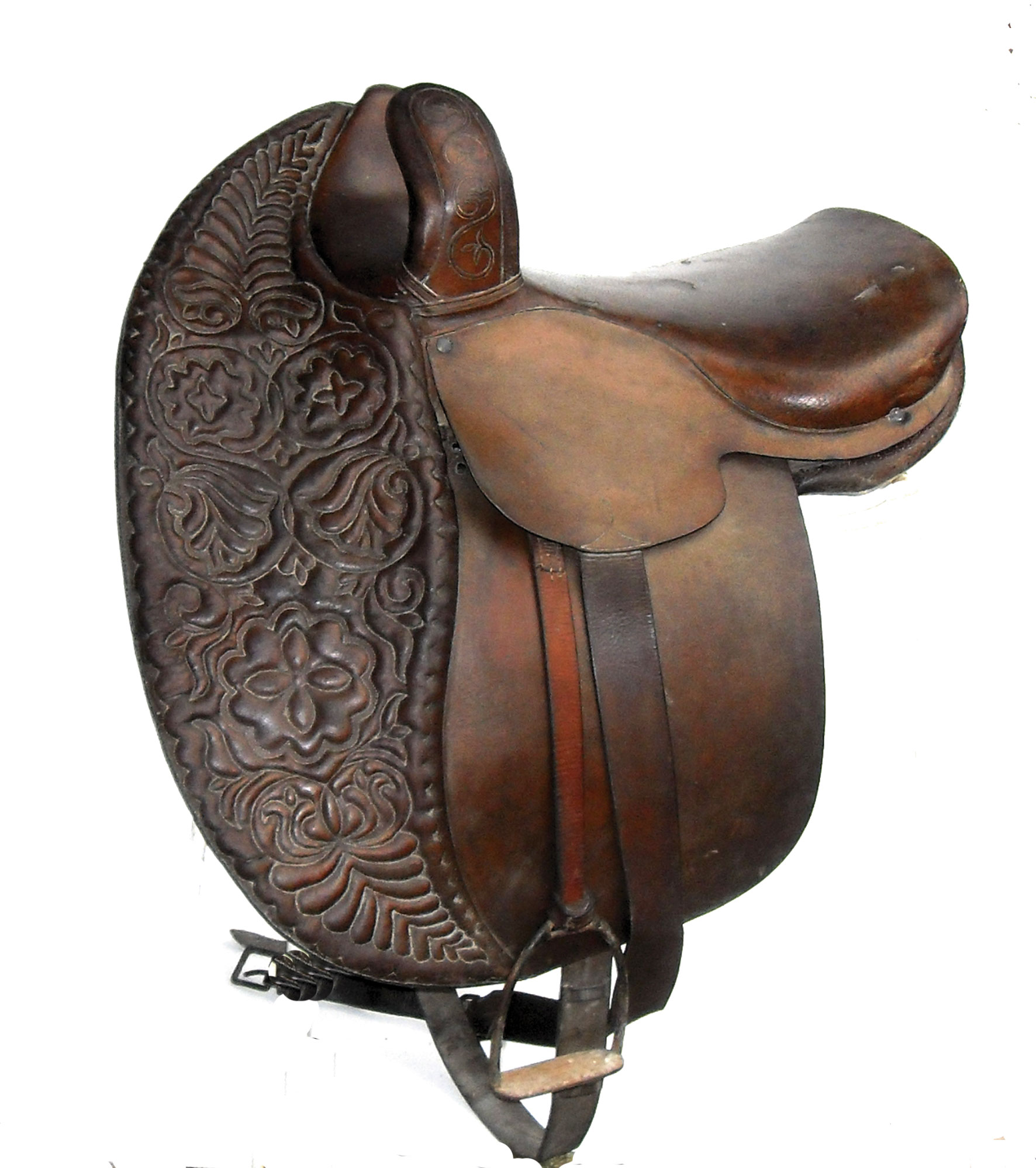 Victorian side saddle